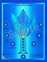 コズミックシリーズホログラム・Cosmic Blue Flame-コズミック・ブルー・フレーム-