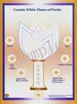 コズミックシリーズホログラム・Cosmic White Flame of Purity-コズミック・ホワイト・フレーム-