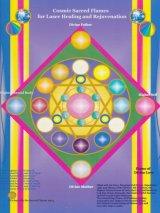 ホログラム・Cosmic Sacred Flames for Laser Healing and rejuvenation(レーザーヒーリングアンドリジュベネーション)
