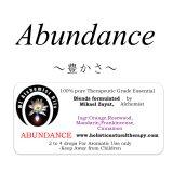 3月のメールマガジン特別価格!!Abundance-アバンダンス(豊かさ)‐