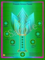 Cosmic Green Flame -コズミック・グリーン・フレーム- コズミックシリーズホログラム