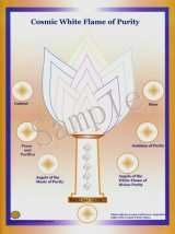 Cosmic White Flame of Purity -コズミック・ホワイト・フレーム- コズミックシリーズホログラム