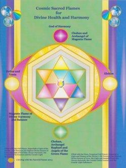 画像1: 11月のメールマガジン特別価格!! Divine Health and Harmony Hologram (デバインヘルス&ハーモニーホログラム) -健康と調和の神のホログラム-