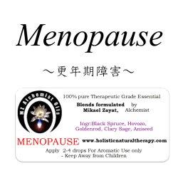 画像1: Menopause-メノポーズ(更年期障害)-