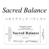 SACRED BALANCE-セイクリッドバランス- ミカエル・ザヤット×高島なゆみコラボレーションアロマオイル 4mlサイズのみ
