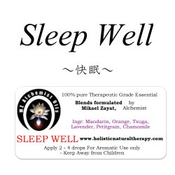 画像1: Sleep Well-スリープ・ウェル(快眠)-