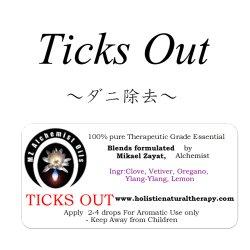 画像1: ◇◆在庫限り◆◇ 20%オフセール!! Ticks Out-チックス・アウト(ダニ除去)-