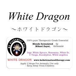 画像1: White Dragon-ホワイトドラゴン-